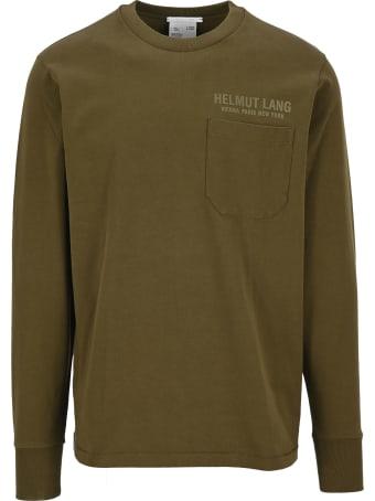 Helmut Lang Printed Logo T-shirt
