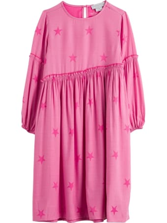 Stella McCartney Kids Stars Jacquard Dress