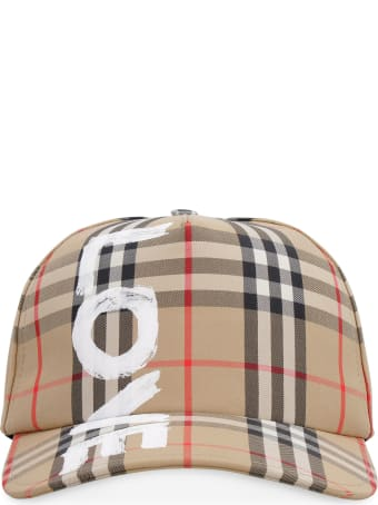 Burberry Printed Baseball Cap