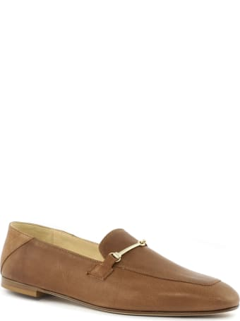 Fabio Rusconi Brown Leather Loafer