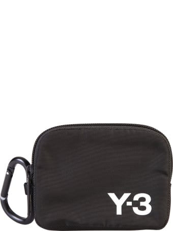 Y-3 Branded Coin Pouch