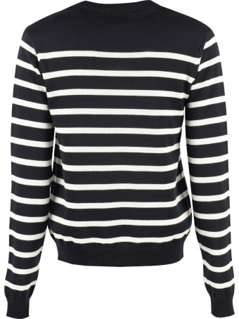 Maison Labiche Striped Wool Pullover