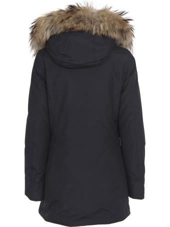 Woolrich Dark Blue Arctic Parka