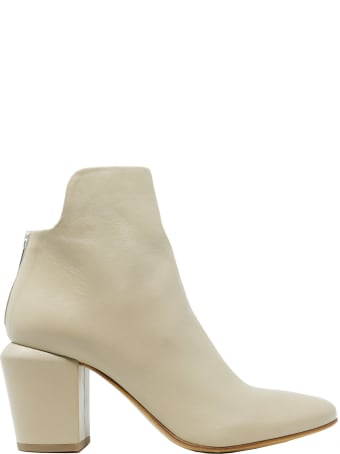 Elena Iachi Leather Ankle Boots