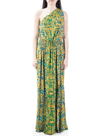 Versace Jeans Couture Versace Jeanse Couture Blend Viscose Dress