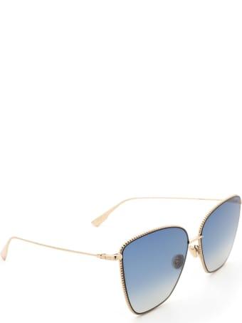 Dior Dior Diorsociety1 Gold Sunglasses