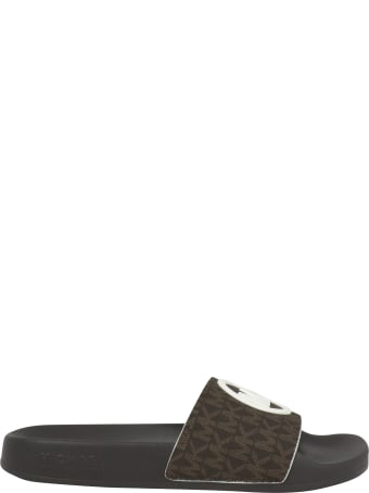 Michael Kors Gilmore Slide Flat Shoes