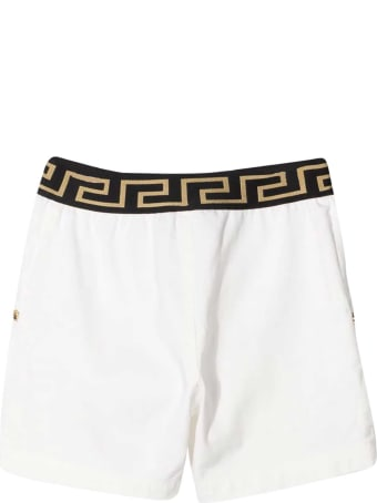 Young Versace White Shorts