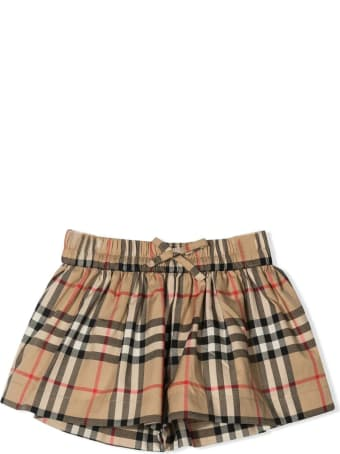 Burberry Beige Cotton Shorts