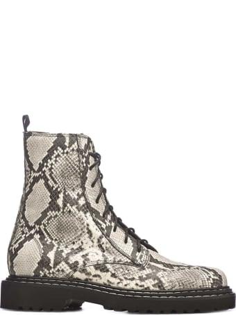Vic Matié Vic Matié Reptile Printed Boots
