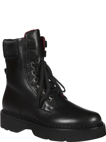 181 Alberto Gozzi Side Zipped Laced Up Boots
