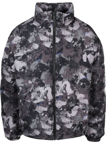 Marcelo Burlon County Camou Cut Down Jacket