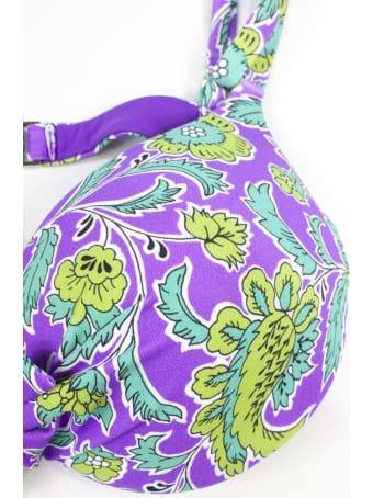 Fisico - Cristina Ferrari Purple Halter Bikini Top
