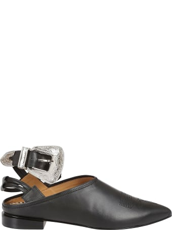 Toga Pulla Toga Pulla Buckle-detailed Mules