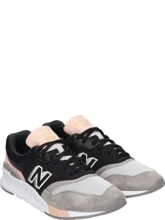 New Balance 997 Sneakers In Black Suede