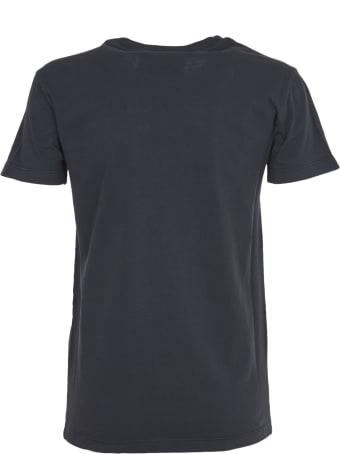John Richmond Black T-shirt With Print And Studs