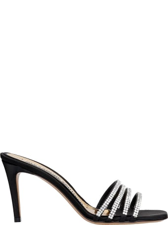 Alexandre Vauthier Sandals In Black Suede