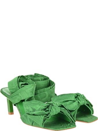 Ganni Heeled Bow Sandals