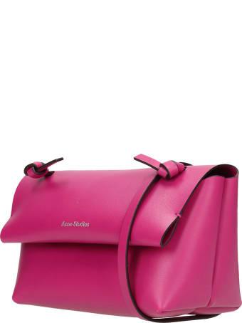 Acne Studios Alexandria Larg Hand Bag In Fuxia Leather