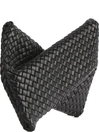 Bottega Veneta Bv Crisscross Clutch Bag In Nappa Leather