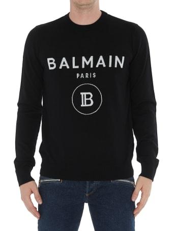 Balmain Logo Balmain Sweater
