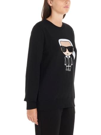 Karl Lagerfeld 'k/ikonik Karl' Sweatshirt