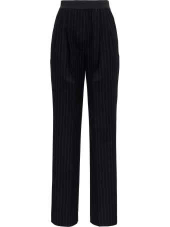 Loulou Studio Pinstriped Trousers In Wool