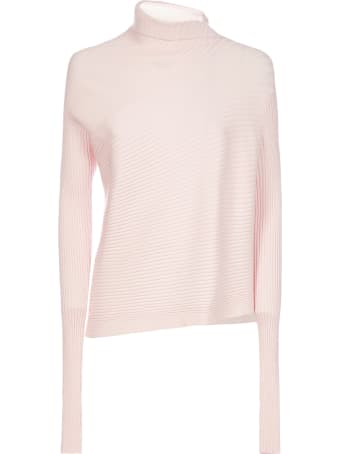 Marques'Almeida Draped Viscose-knit Turtleneck