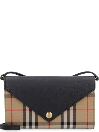 Burberry Fabric Wallet On Chain