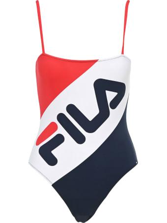 Fila Striped Logo Swimsuit