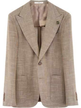 CC Collection Corneliani Blazer With Peak Lapels