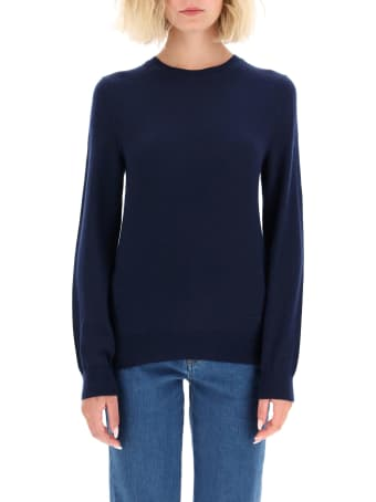 Tory Burch Cashmere Sweater With Logo Buttons