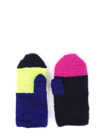 Daniela Gregis Multicoloured Gloves
