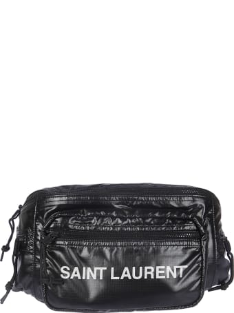 Saint Laurent Logo Front Print Belt Bag