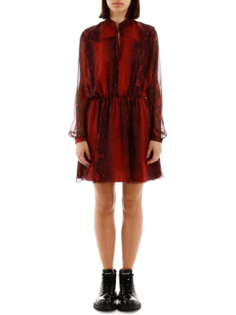 AMIRI Python-print Mini Dress