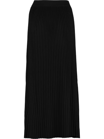 Weekend Max Mara Scilla Pleated Knit Skirt