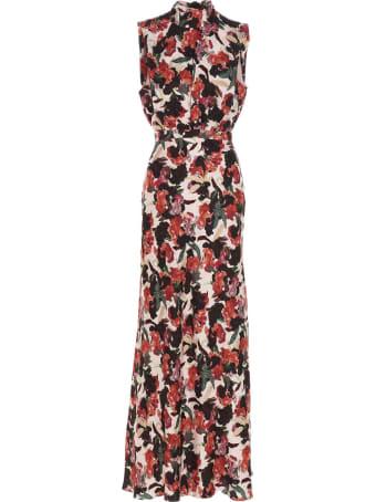 Saloni 'fleur' Dress