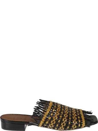 L'Autre Chose Bicolor Twin Sandals