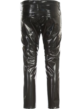 Junya Watanabe Comme Des Garçons Polyester Stretched Straight Pants