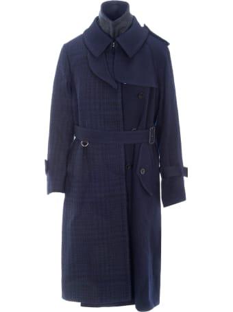 Sacai Asymmetrc Trench Coat