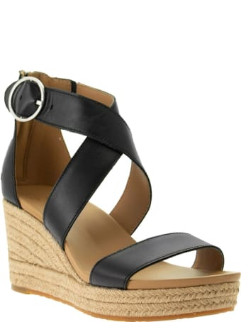 UGG Hylda - Leather Sandal With Wedge