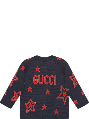 Gucci Blue Cardigan