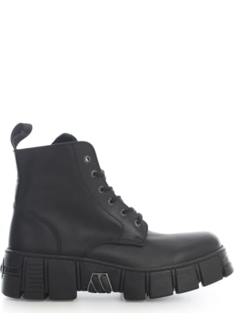 New Rock High Sole Ankle Boots