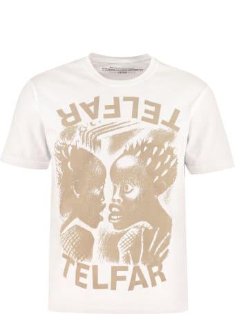 Telfar Printed Cotton T-shirt