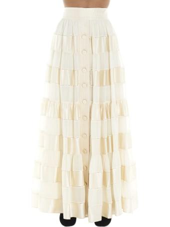 Zimmermann 'sabotage Ribbon Stripe' Skirt