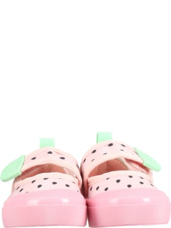 Melissa Pink Shoes For Girl With Seeds