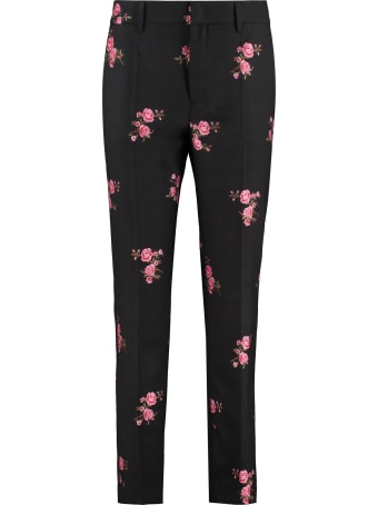 RED Valentino Wool Blend Tailored Trousers