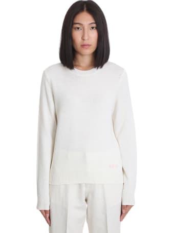 A.P.C. Esme Knitwear In White Wool