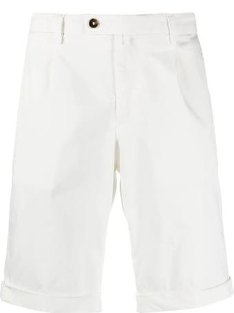 Briglia 1949 White Cotton Shorts