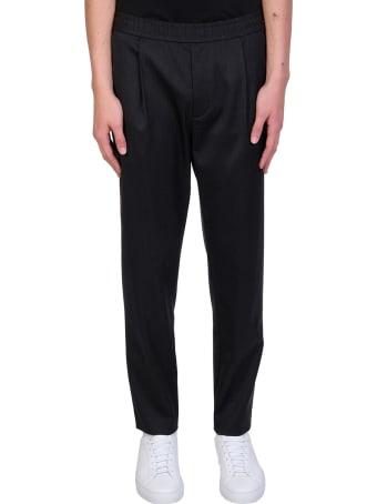 Theory Pants In Black Wool